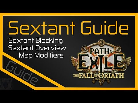 How to PoE: Sextants [Path of Exile]