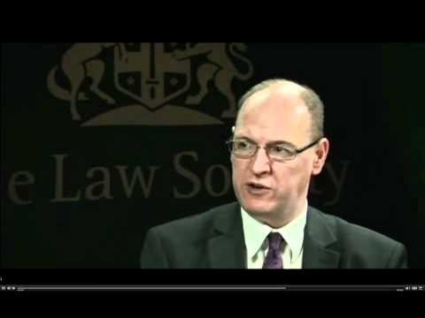 The Law Society on the green paper proposals 1st February (complete)
