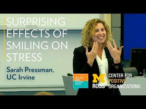 Surprising Effects of Smiling on Stress - Positive Links Speaker Series ft. Sarah Pressman