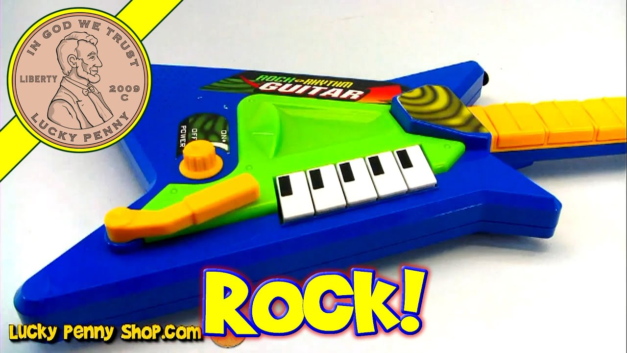 Just Kidz Rock n Rhythm Musical Guitar Keyboard Toy Kids Toy
