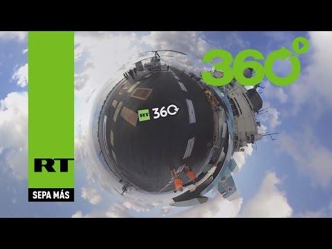 Admiral Kuznetsov en 360º: unas espectaculares imágenes panorámicas desde este portaaviones ruso
