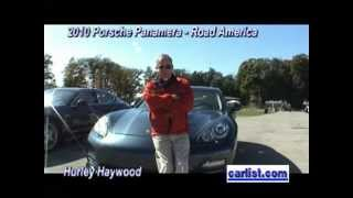 Hurley Haywood & the 2010 Porsche Panamera