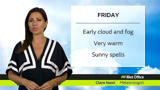 Friday Scotland forecast - 23/07/21