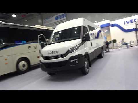 Обзор микроавтобуса Iveco Daili 2018 Ивеко Дэйли, чай, ко