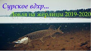 Зимняя рыбалка на жерлицы 2019 2020 Сурское вдхр