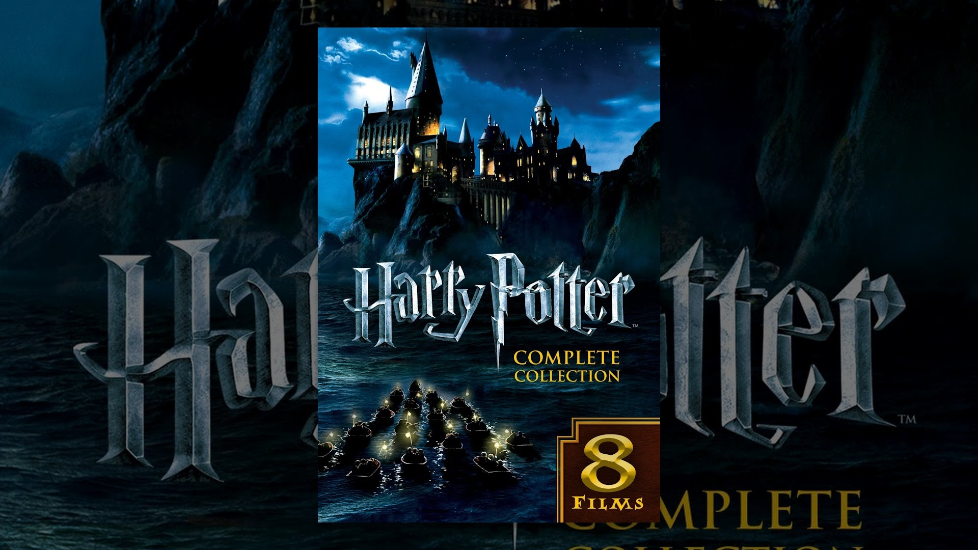 Harry potter complete collection youtube for Sejour complet harry potter