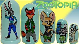Zootopia Nesting Dolls with Judy Hopps & Nick Wilde Toy Surprises thumbnail