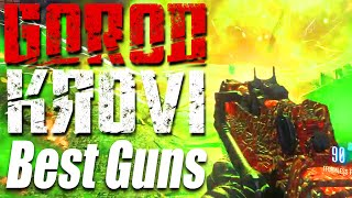 """TOP 5 Guns To Use on """"Gorod Krovi"""" - Best Weapons List (Call of Duty: Black ops 3 Zombies)"""