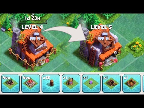 MEISTERHÜTTE LEVEL 5 - 14.000 GEMMING • Clash of Clans deutsch