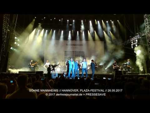 Söhne Mannheims Xavier Naidoo - 26.05.2017 Hannover (Audio)