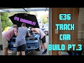 Value for money E36 track car build | The manual box goes in! | Part 3