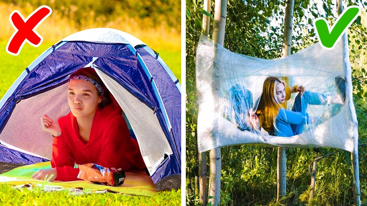 26 Clever Camping Tricks And Ideas || Must-Know Travel Hacks