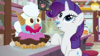 Rarity & Sweetie Belle get giant ice creams - Forever Filly