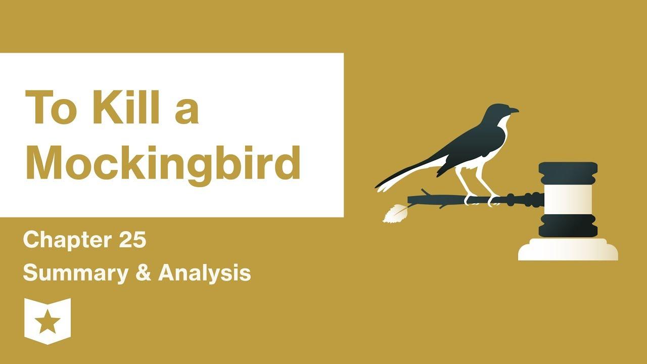 To Kill a Mockingbird | Chapter 25 Summary & Analysis | Harper Lee