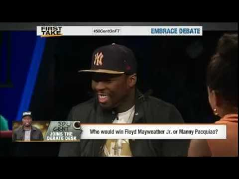 50 cent Says Floyd Mayweather Ducked Manny Pacquiao