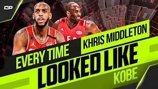 Every Time Khris Middleton looked like Kobe (at the 2020 All-Star Game)