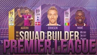 FIFA 18 | Squad Builder - Premier League 3,5M | Ultimate Team