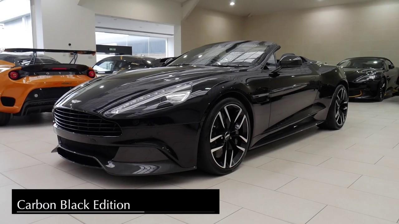 Aston Martin Edinburgh Vanquish Carbon Black Edition Youtube