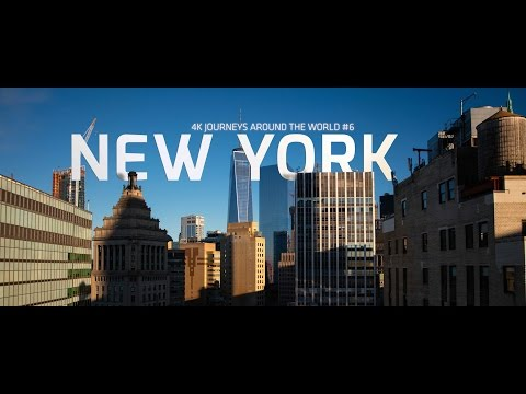 8k HDR New York City, USA - 4k Timelapse (ULTRA HD)