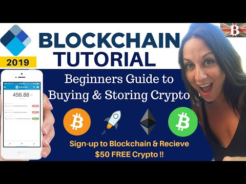 Blockchain.com Full Tutorial 2019 - Beginners Guide