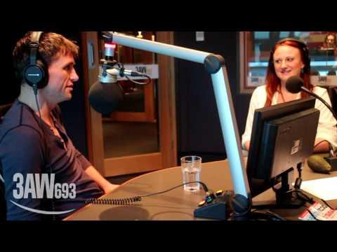 MATILDA: Mr & Mrs Wormwood Dan Frederiksen & Marika Aubrey in studio with Denis Walter