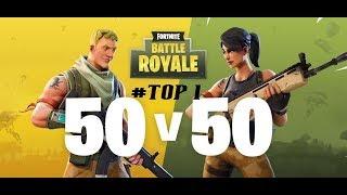 PETIT TOP 1 EN 50 VS 50  (4 KILLS)