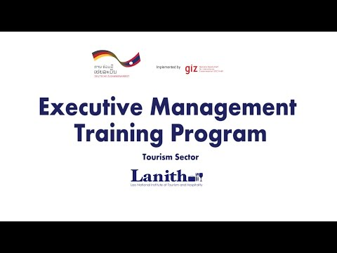 Lanith Executive Management Training Program for the Tourism Sector