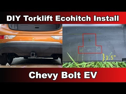 Torklift Ecohitch unboxing and DIY install on a Chevy Bolt