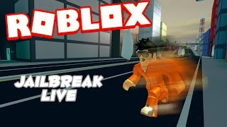 Roblox Jailbreak Live 🔴|Grinding for Cash 💸|Come join me! 😄