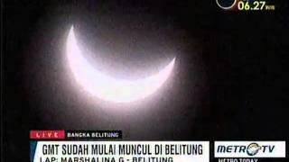 [LIVE] Detik Detik Gerhana Matahari Total 9 Maret 2016 Indonesia - Wildan.info