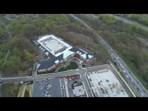 Drone Aerial of Dobbs Ferry, NY in Westchester County