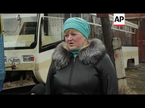 Russia's smallest town with own tram system built by German POWs