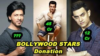10 Bollywood Actors Who Donated Huge Ammount - Ranveer Singh, Deepika Padukone, Anushka Sharma