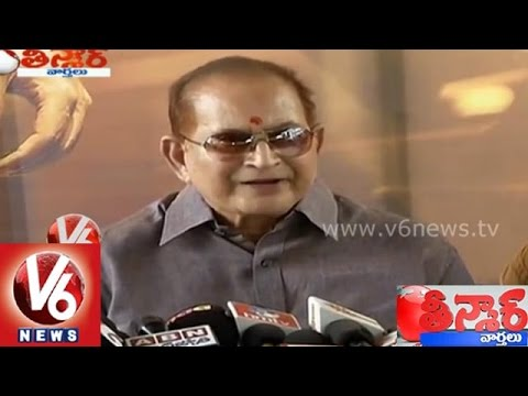 Super Star Krishna suggests name for Cinema City as KCR - Teenmaar News