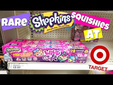 RARE SHOPKINS SQUISHIES NOW AT TARGET!