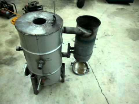 diy biomass gasifier