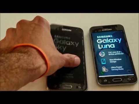 Compare Straight Talk Samsung Galaxy Sky Vs. Samsung Galaxy Luna