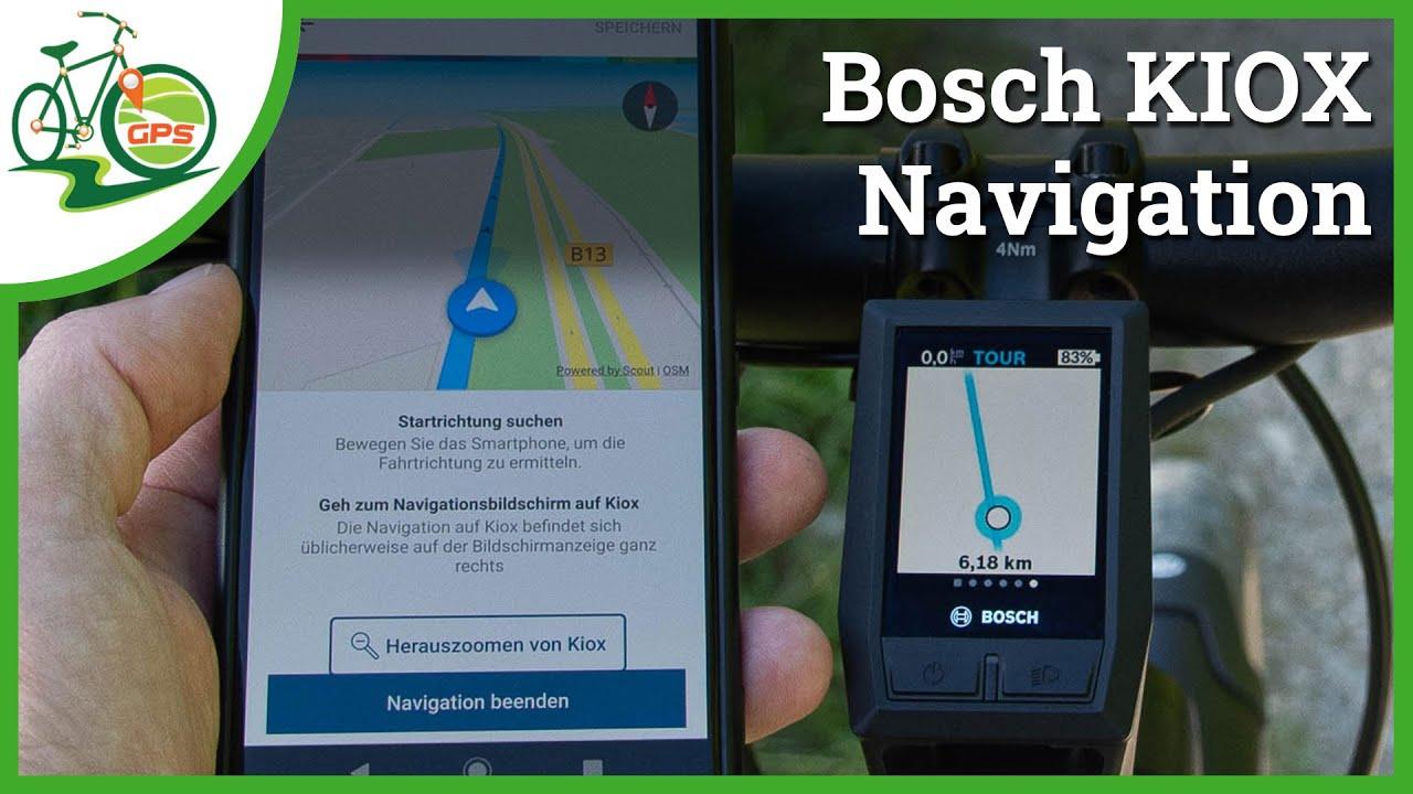Bosch KIOX Navigation 🚴 Update 🆕 Tipps & Tricks 🏁