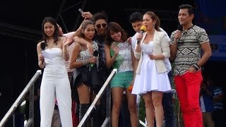 The Celebrity Guests at Day Two of the 'Barrio Fiesta Sa London 2014' (Original Footage)