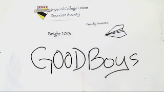 Brunei Night 2015: Good Boys Trailer (Draw My Life)
