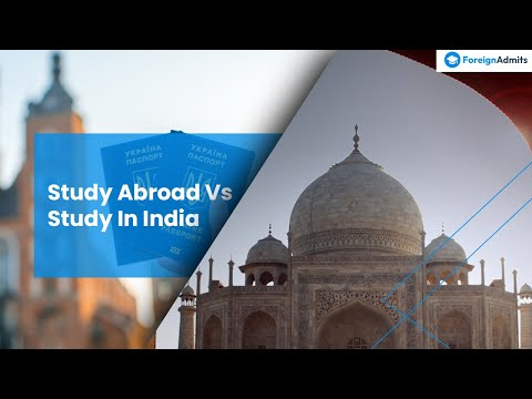 MBA Colleges || India v/s Abroad || Top B- School || What will you select?    [ForeignAdmits]