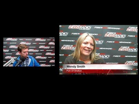 Wendy Smith talks Port of Shelton business on Daybreak! 11/02/16