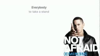 Eminem - Not Afraid (lyrics) [Free Ringtone].flv