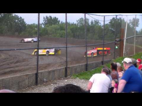 Late Model Heat 1 @ Marshalltown Speedway 06/02/17