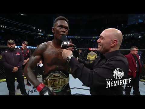 UFC 248: Israel Adesanya & Yoel Romero Octagon Interviews