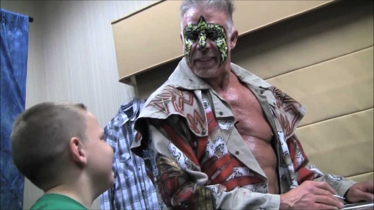 what's it like meeting the ultimate warrior? team warrior went