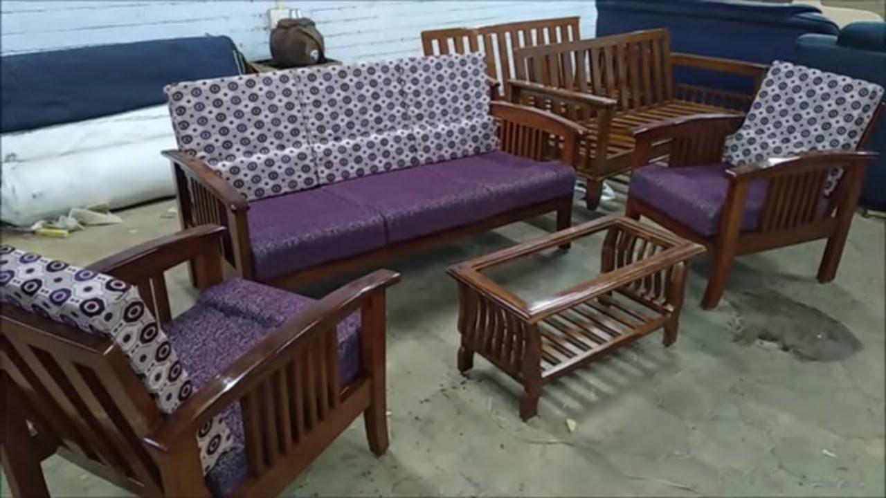 New Model Wooden Sofa Set Designs 2019