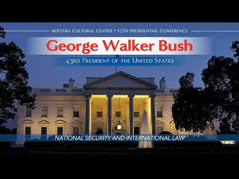 George W. Bush: NATIONAL SECURITY AND INTERNATIONAL LAW