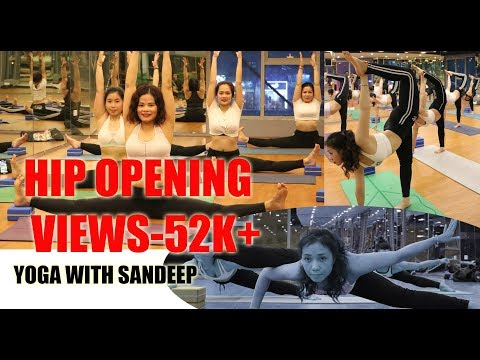Hip opening part 3 level high ( intermediate) create by sandeep Sharma at HH1A