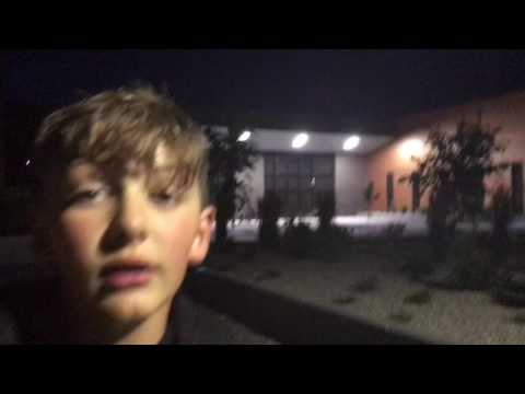 Vlog basketball and getting wet by sprinklers